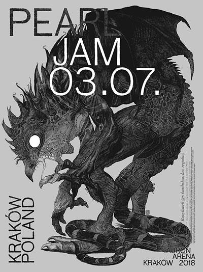 Pearl Jam Kraków 7/3/2018